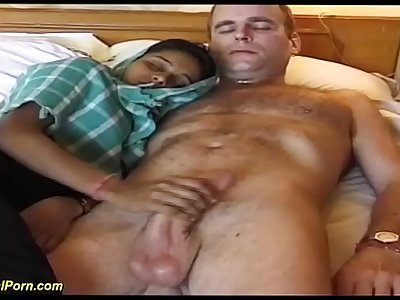 busty indian nubile gets a german cock