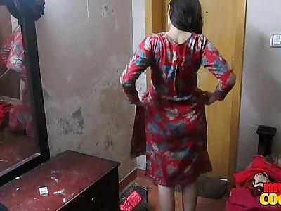 Indian Wifey Sonia In Shalwar Suir Strips Naked Xxx Hard-core Fuck